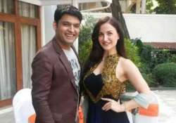 elli avram takes a jibe at kapil sharma calls him a- India Tv
