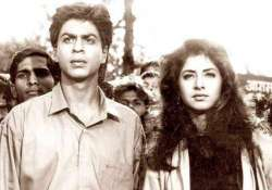 srk s first film deewana has a lot of things you might not