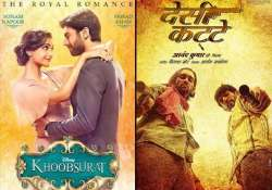 bo report daawat e ishq and khoobsurat dominate in second