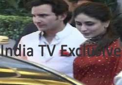 saif kareena wore exquisite outfits at wedding reception