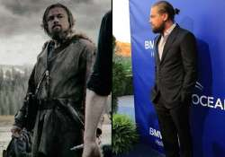 dicaprio s beard mystery solved its for the revenant