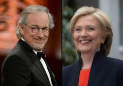 spielberg donates 1 mn to hillary clinton s super pac
