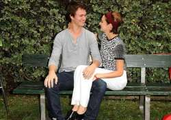 fault in our stars actors recreated bench scene