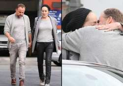 sharon stone david deluise seen kissing publicly