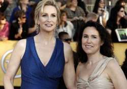 jane lynch shocked by lara embry s spousal support demand