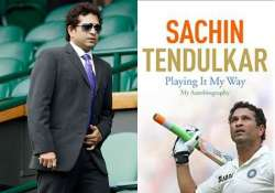 sachin breaks a new record with his book playing it my way