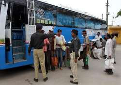 bus carrying released indian fishermen hits speeding truck