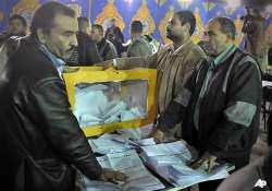 egypt s military takes credit for election turnout
