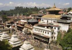 pashupatinath temple unharmed in nepal s devastating quake