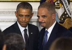 barak obama pal eric holder to leave after 6 years as ag
