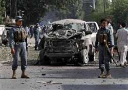 two killed in afghanistan blast