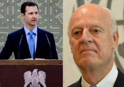 syrian president pledges cooperation with new un envoy