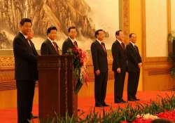 for first time chinese leader speaks of communist party