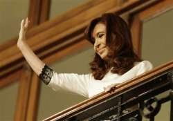 argentine president has inflamed sigmoid colon