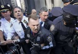 100 arrested at wall street climate crisis sit in