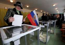 eastern ukraine rebels announce their poll results