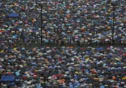 protesters rally for democracy in hong kong
