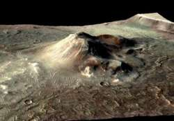 scientists discover ancient supervolcanoes on mars