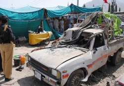 six including an anp leader killed in pak blast