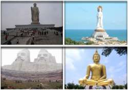 the 10 tallest statues in the world