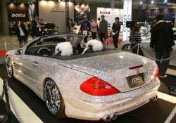 watch in pics the diamond studded mercedes benz