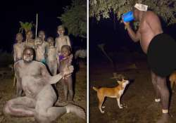 weird ethiopian tribe consumes cow s blood and milk to be