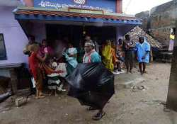 relief for andhra as cyclone weakens