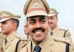 cbi team probing up cop s murder stoned