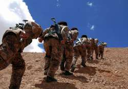 chinese troops came 2 km close to indian posts in ladakh