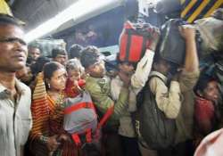 diwali rush no sale of platform tickets from sunday