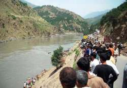eight dead as taxi plunges into chenab in jammu