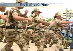 elite women commandos to secure delhi metro