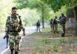 fear of naxal disturbances in sept keeps police on their