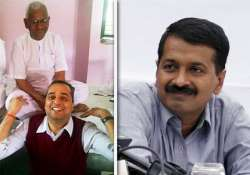 former anna blogger to stage dharna outside kejriwal s house