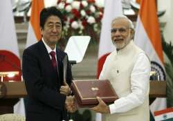 abe s visit 10 areas identified by india japan for