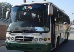 cross loc bus service resumes 56 pok nationals reach j k