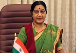 sushma swaraj to visit south korea for joint commission meet