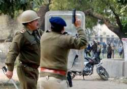 villagers block road to protest death in police firing