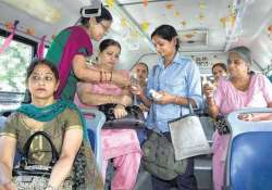 dtc buses offer free ride to girls on bhai duj