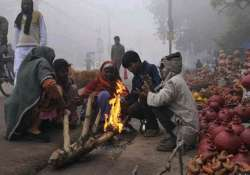 fog disrupts train services sikar shivers at 2.5 deg c