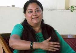 on eve of world population day vasundhra raje advocates for