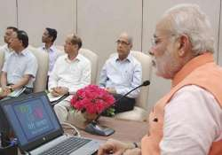 pm narendra modi launches online platform mygov for citizen