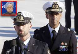 pm warns italy of consequences if marines don t return