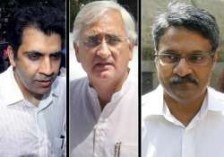 sc takes exception to khurshid s remarks
