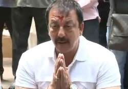 sanjay dutt to surrender on april 18 goes to devi peeth