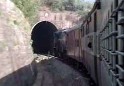 shri shakti express to katra stuck in tunnel due to engine