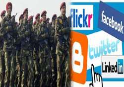 stay away from facebook wechat indian army tells jawans