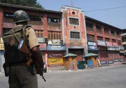 strike disrupts normal life in kashmir