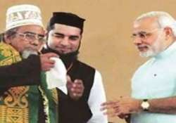 sufi imam angry over modi refusing to wear his cap