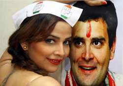 tanisha singh strips for rahul gandhi
